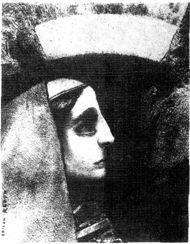 II. Delante del negro sol de la melancolia, Lenor, aparecia (168mm x 127mm)
