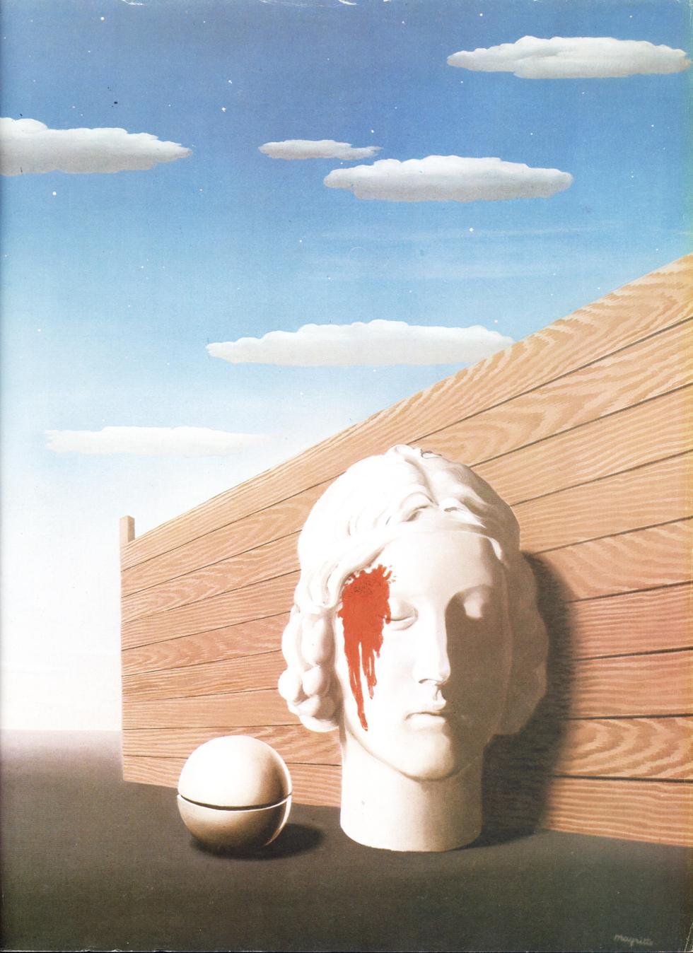 La mémoire, 1938, oil on canvas, 72.5 x 54 cm