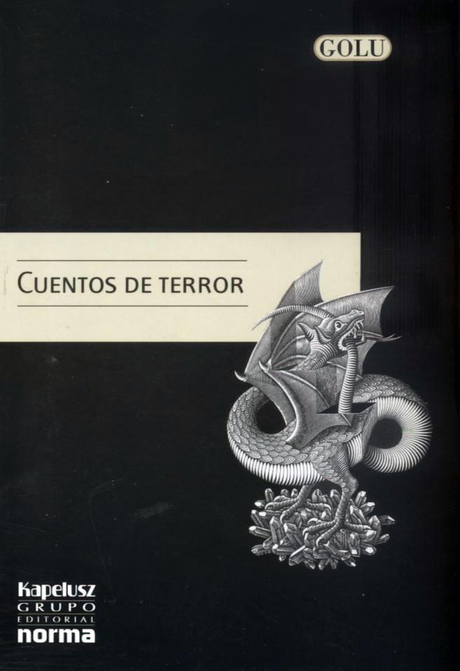 Tapa Cuentos de terror