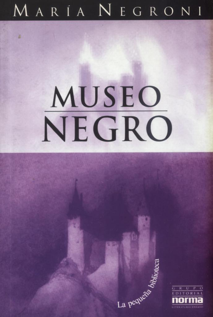 Tapa Museo negro