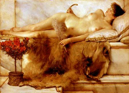 Sir Lawrence Alma-Tadema. The Lepidarium