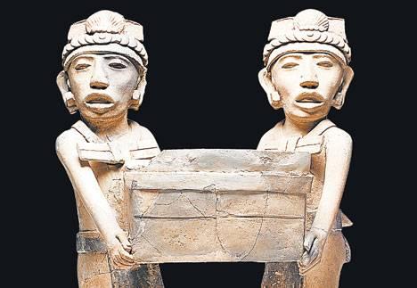 Personajes. Del centro de Veracruz. Todas ellas están datadas entre los años 600 y 900 d.C.