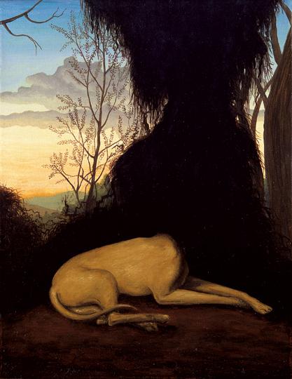 Amante, 2006 (Óleo sobre tela, 35 x 27 cm)