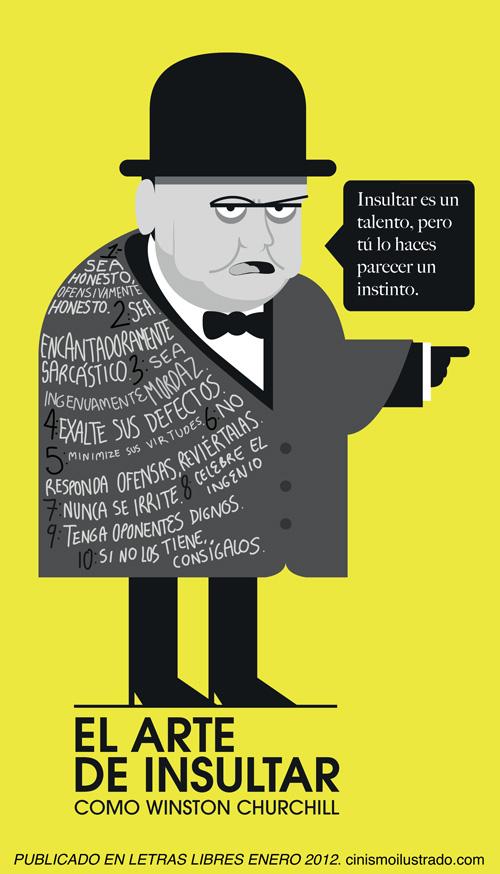 El arte de insultar como Winston Churchill