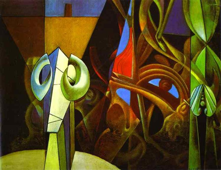 Design in Nature. 1947. Oil on canvas.