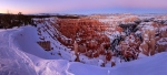 Bryce Canyon is a winter wonderland, Utah