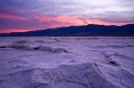 Firey sunset in Death Valley National Park, California