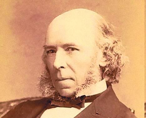 Positivista cientifico. De formación autodidacta, Spencer está considerado como uno de los fieles promotores del darwinismo social en Inglaterra.