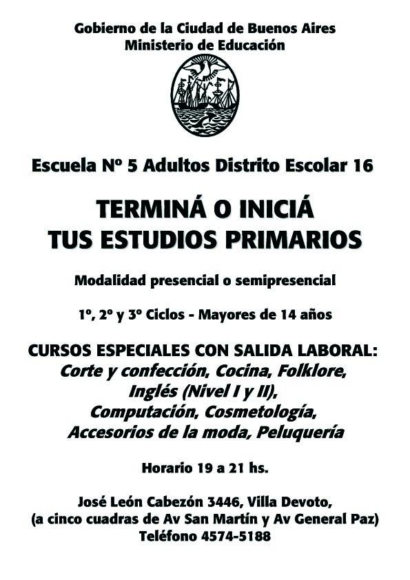 Escuela 5