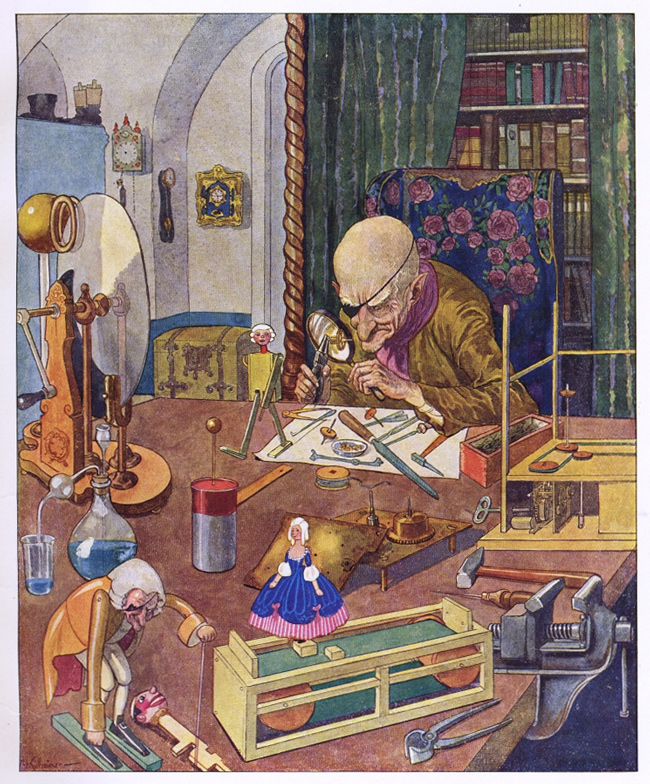 para El cascanueces y el Rey Ratón, de Hoffmann (1924) 3