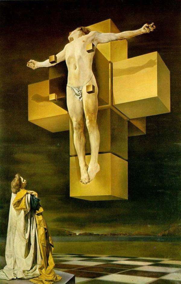 Crucifixión o Corpus hypercubicus (1954)