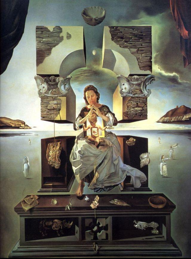 La Madonna de Port Lligat (1950)
