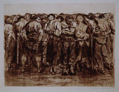 Die Gefangenen, 1908