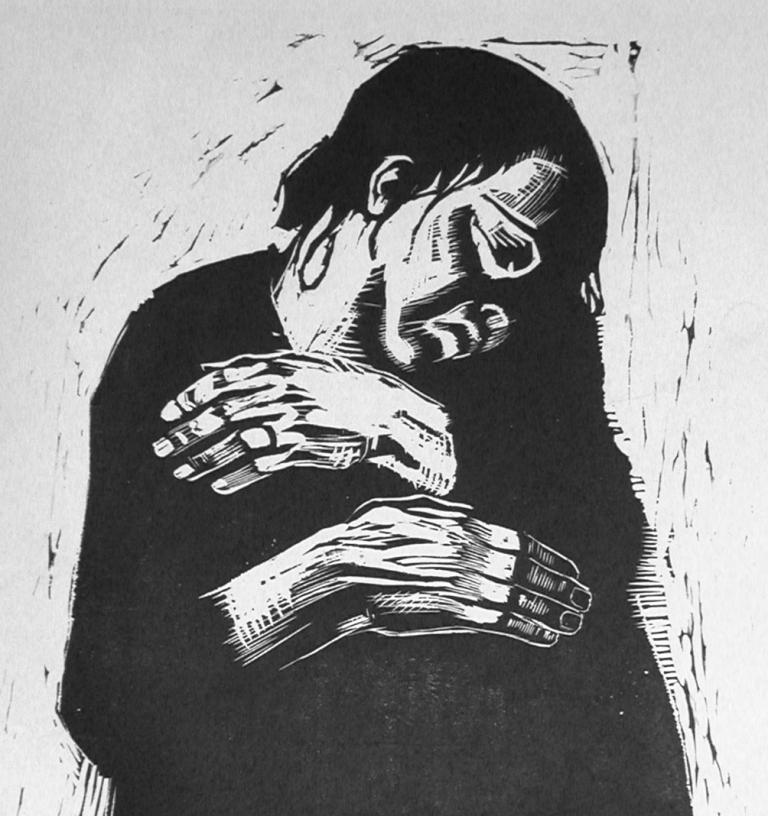 Die Witwe, 1921-22