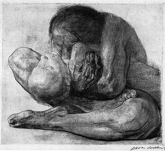 Mujer niño muerto, 1903
