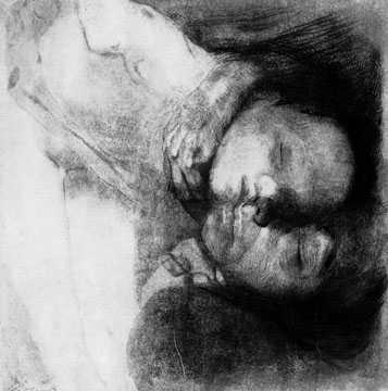 Tod, Frau und Kind, 1910