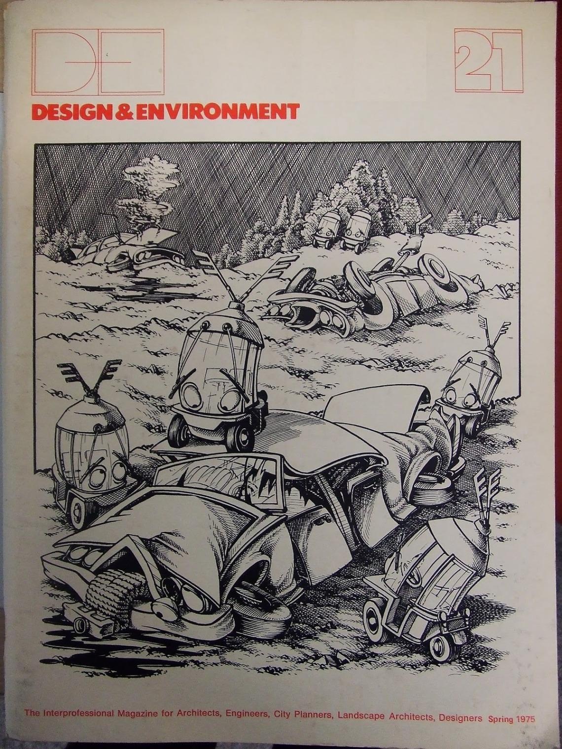 Cover Design & Environment spring 1975