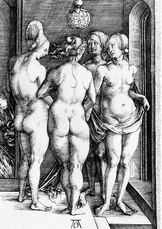 Albrecht Dürer (1471-1528) Las tres Gracias (1497)