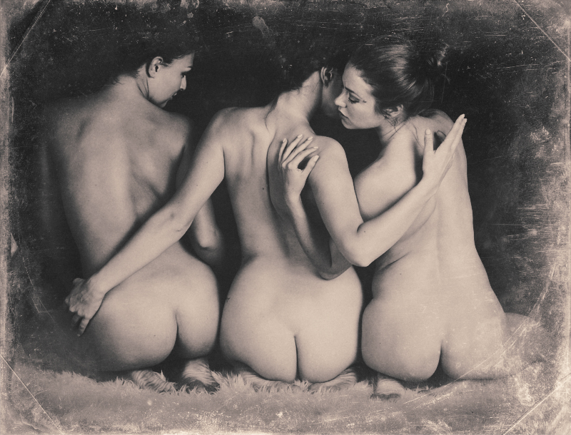 Don Walthrop. The Three Graces