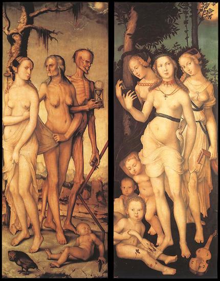 Hans Baldung (1480-1545) Las edades y la muerte