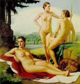 Ivo Saliger (1894-1987) Las tres Gracias