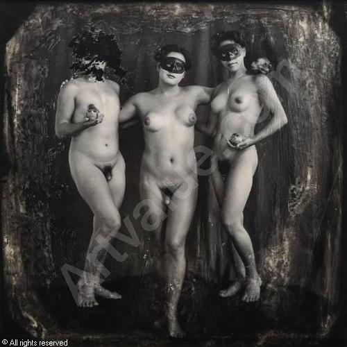 Joel-Peter Witkin (1939) The Three Graces