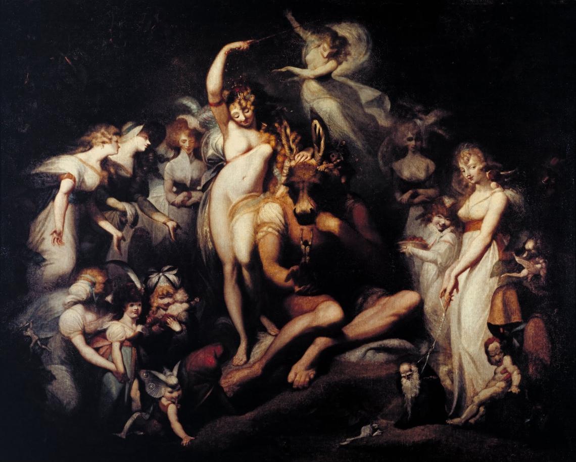 Johann Heinrich Füssli (1741-1825) Titania and Bottom