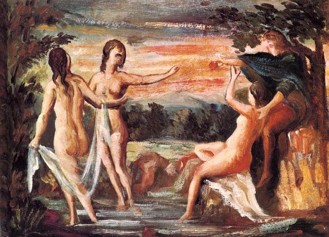 Paul Cézanne (1839-1906) El juicio de Paris (1862)