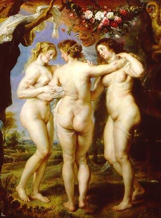 Peter Paul Rubens (1577-1640) Las tres Gracias