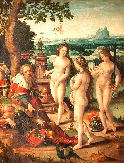 Pieter Coecke van Aelst (1502-1550) Las tres Gracias (1533)