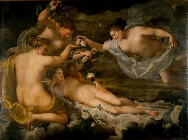Pietro Liberi (1605-1687) Venus adorada por las Gracias