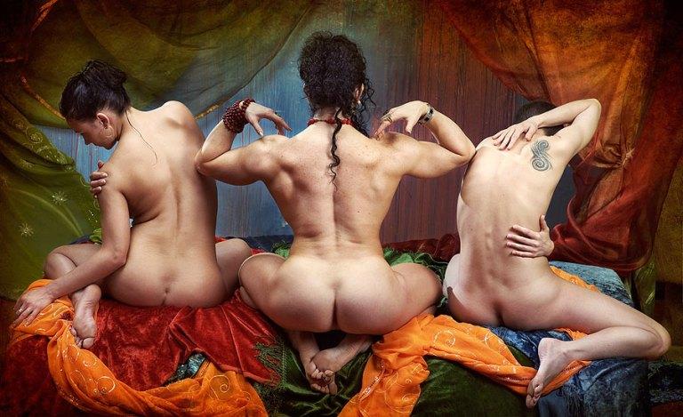 Vadim Dimoff. The Three Graces