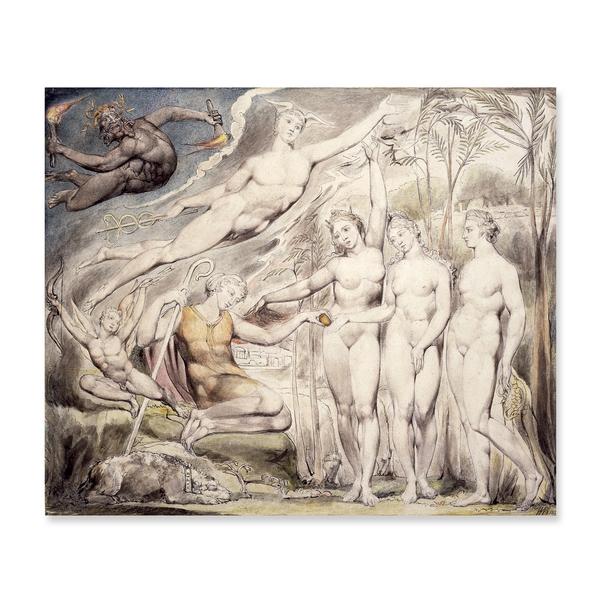 William Blake (1757-1827) The Judgment of Paris (1811)