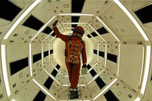 La estética de la ciencia ficción marcó el cine, como muestra 2001 Una odisea del espacio, de Stanley Kubrick.