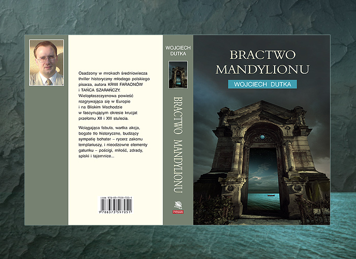 book cover artwork for WOJCIECH DUTKA - Bractwo Mandylionuof God ( Dziecię Boże )