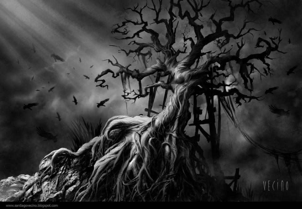 Árbol de los cuervos