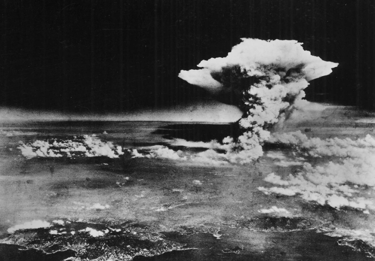 Bomba atómica en Hiroshima el 6 de Agosto de 1945