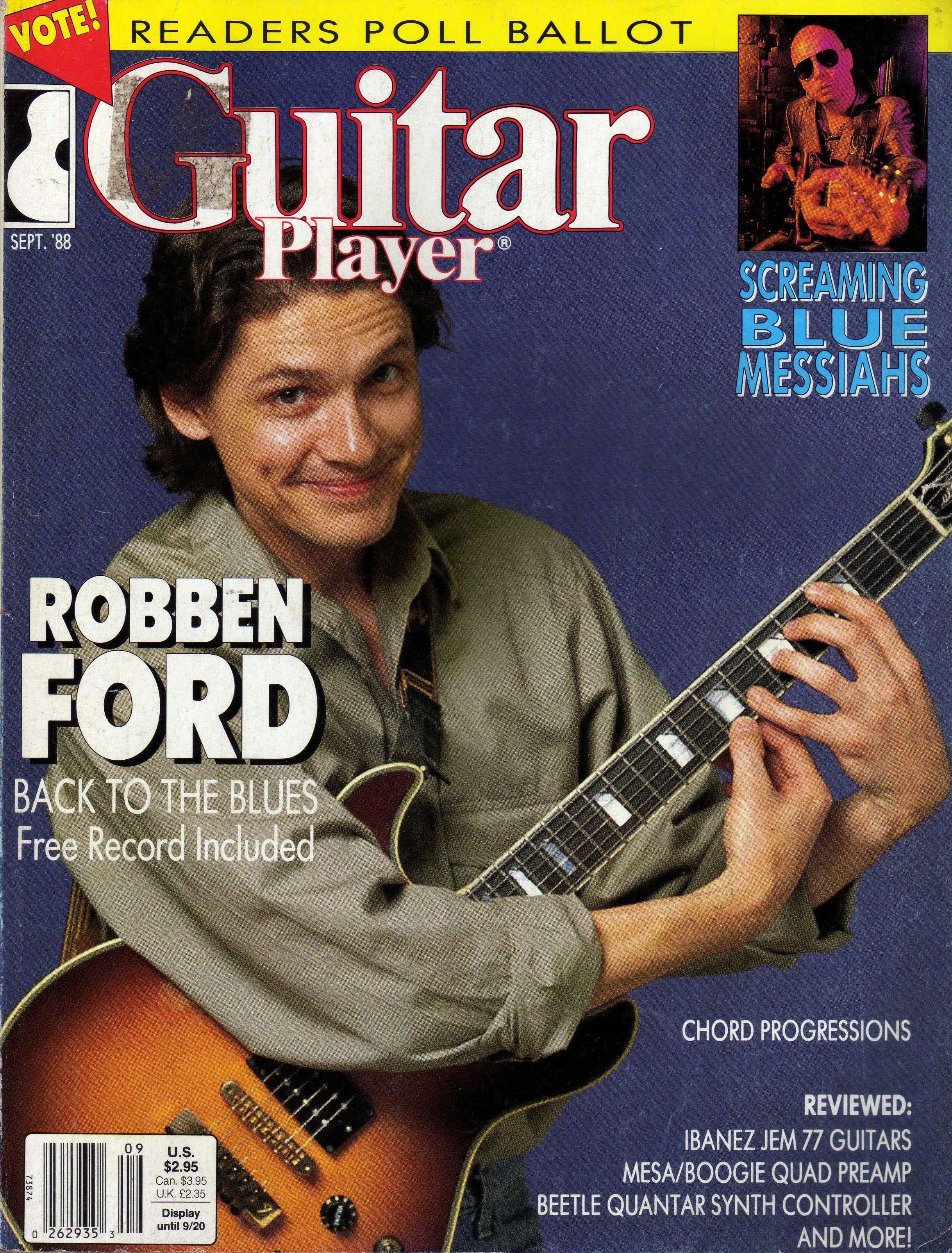Robben Ford Guitarrista Facultades Mentales