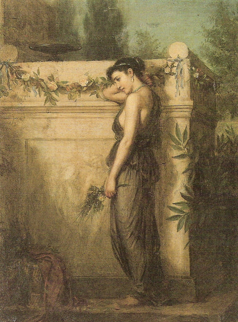 Gone_But_Not_Forgotten_-_John_William_Waterhouse