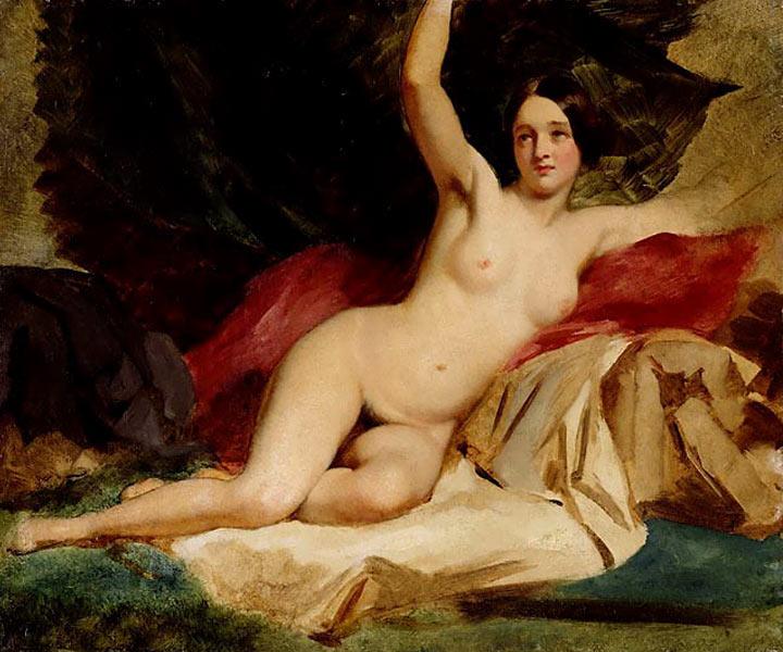 Female Nude in a Landscape