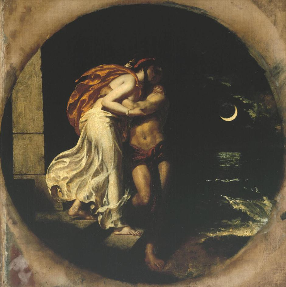 The Parting of Hero and Leander exhibited 1827 William Etty 1787-1849 Purchased 1945 http://www.tate.org.uk/art/work/N05614