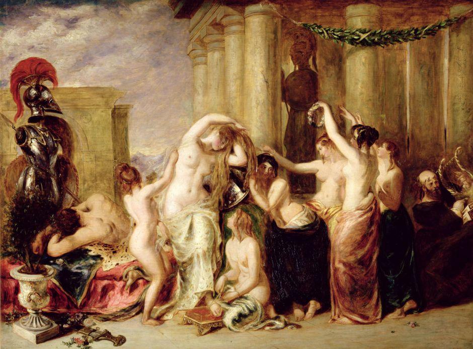 Venus and her Satellites (replica) (1835)