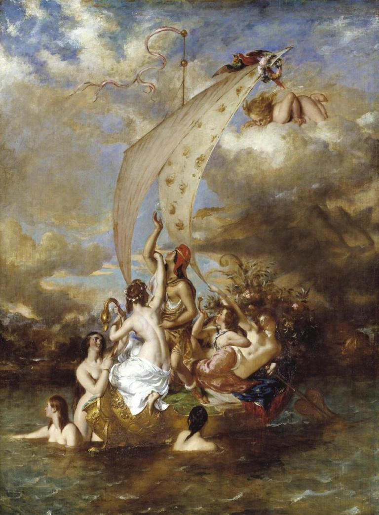 Youth on the Prow, and Pleasure at the Helm 1830-2, exhibited 1832 William Etty 1787-1849 Presented by Robert Vernon 1847 http://www.tate.org.uk/art/work/N00356