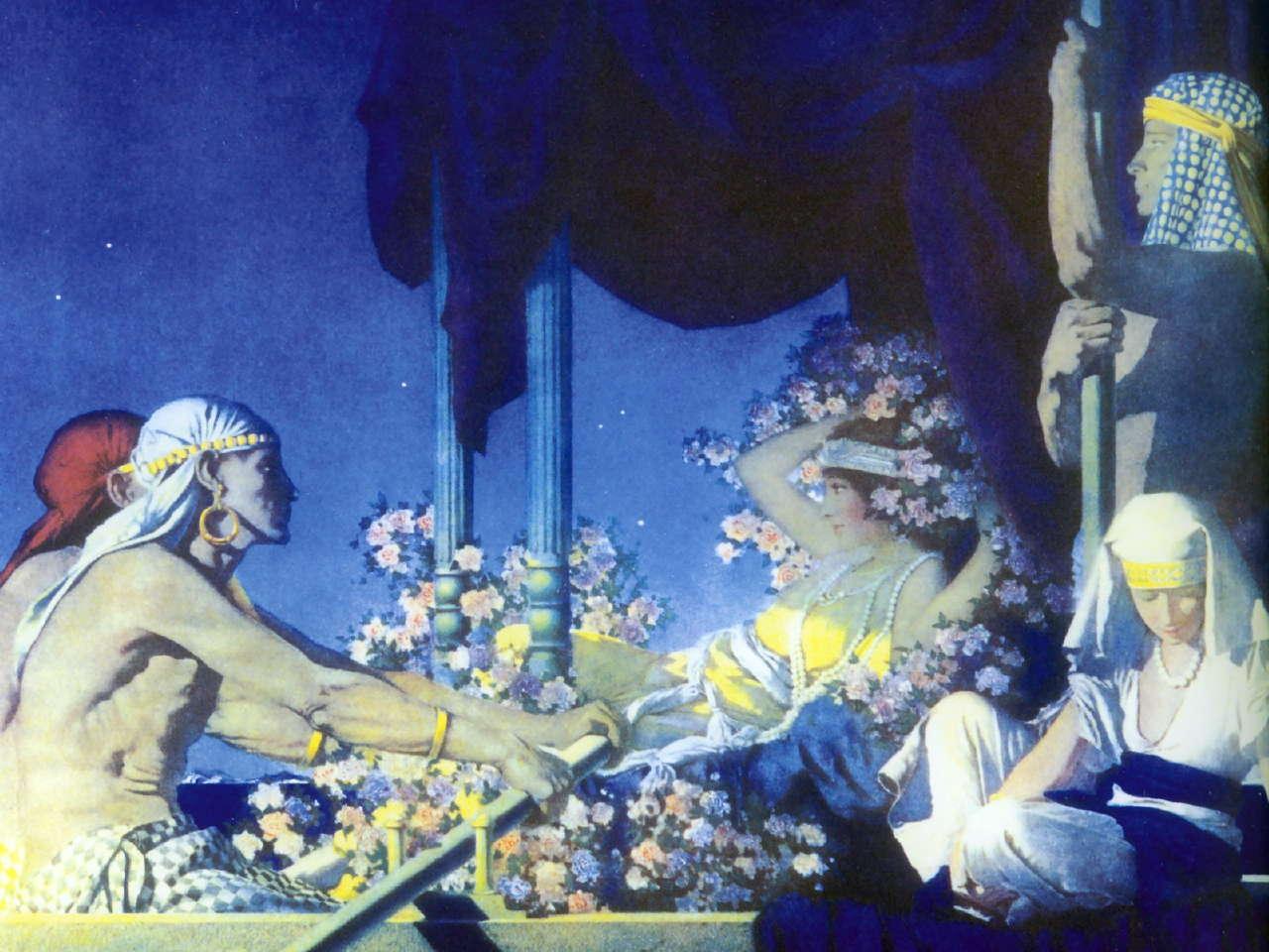 Resultado de imagen para maxfield parrish pinturas