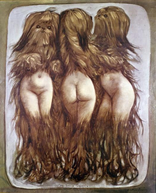 Les Trois Garces